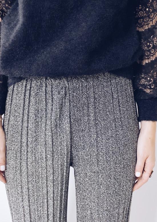 Silver chuck pants