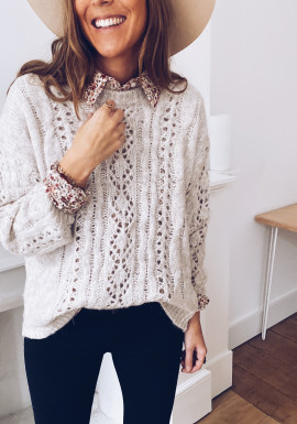 Beige Paloma sweater