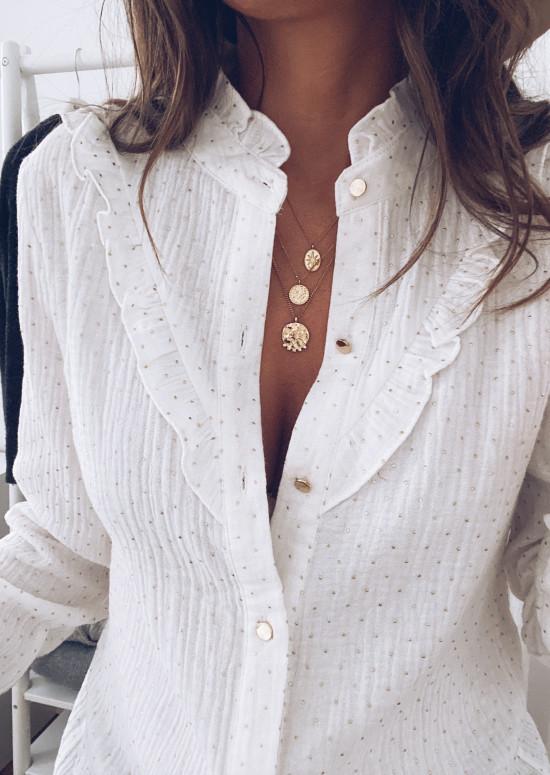 Chemise Zelia blanche