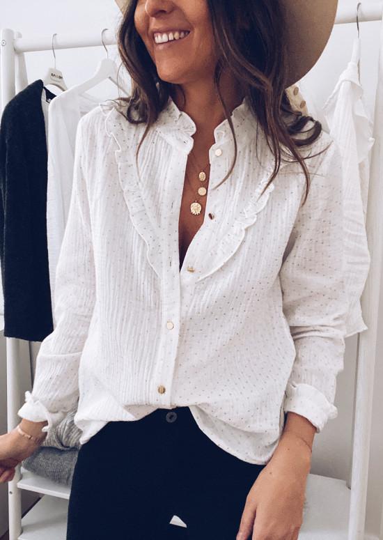 White Zelia shirt