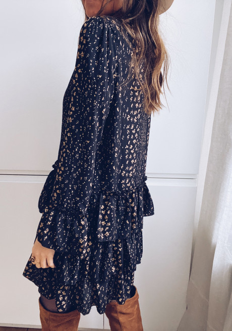 Izou patterned dress