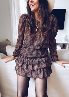 Florette patterned blouse