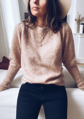 Beige Alizée sweater