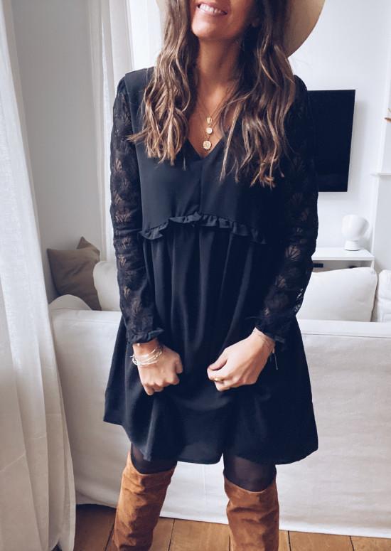 Robe Nath noire