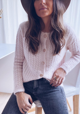 Pink Victorina sweater