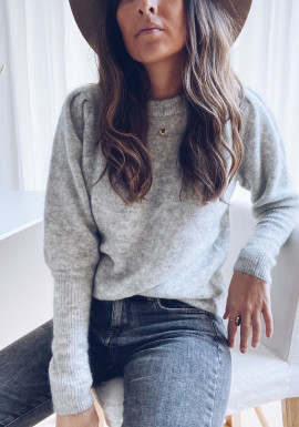 Ligh grey Alizée sweater