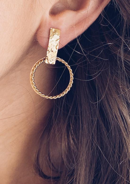 Golden Loli earrings
