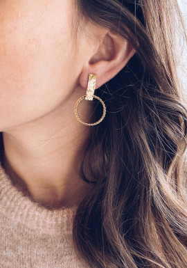 Golden Loli earrings