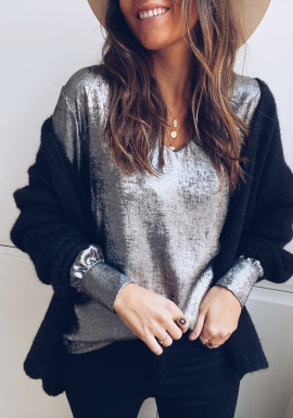 Silver Laurie Blouse