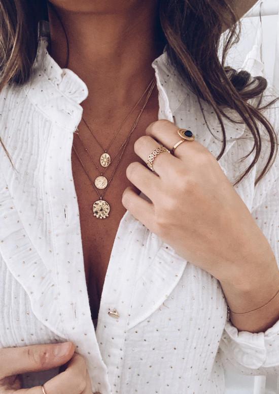 Golden Loras necklace