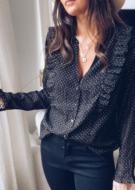 Black Poupi blouse