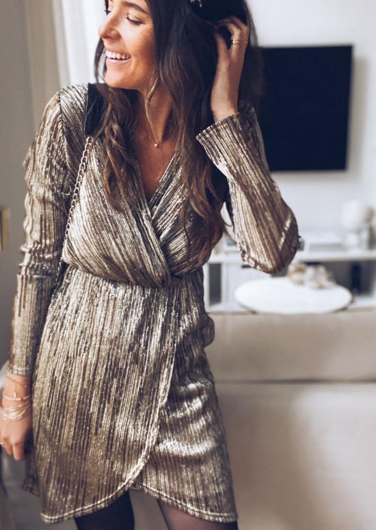 Golden Ann Dress