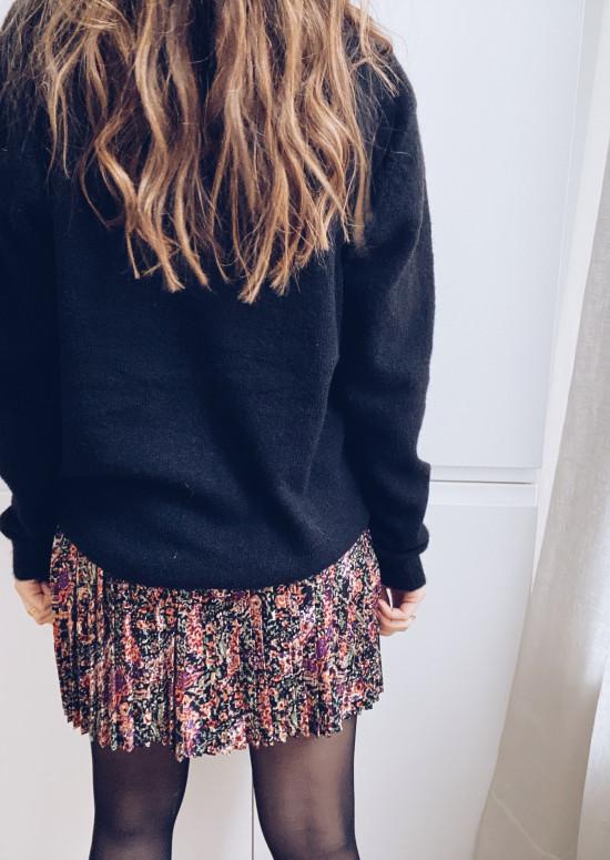 Purple Edith Skirt