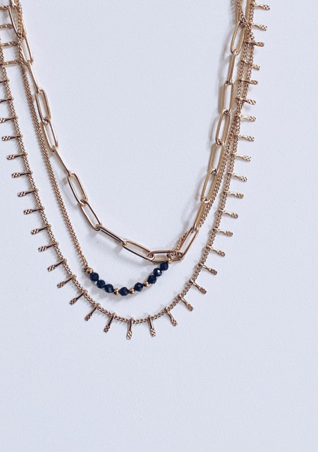 Golden Nuts Necklace