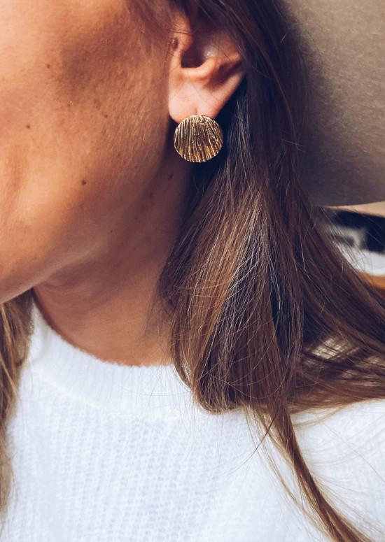 Golden Tristan earrings