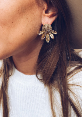 Golden Tristan earrings
