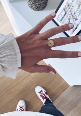 Golden Nathéo ring
