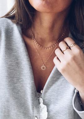 Golden Jada necklace