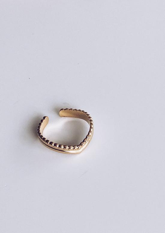 Golden Lomane ring