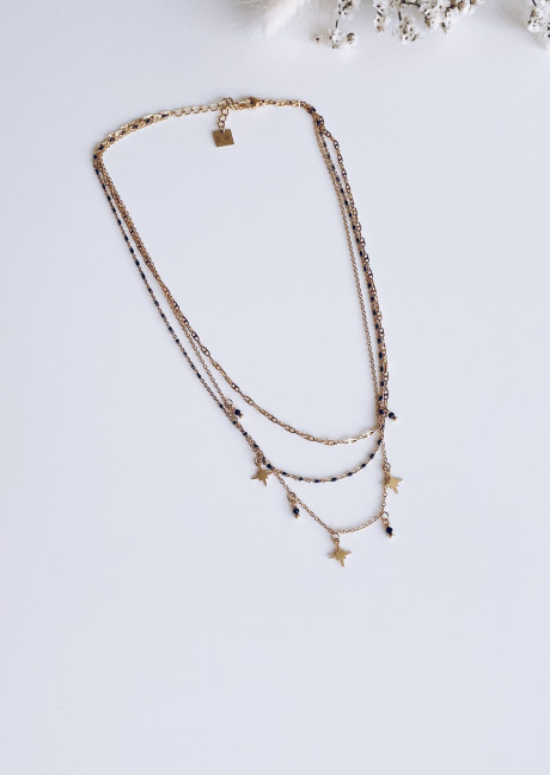 Golden Jannel necklace