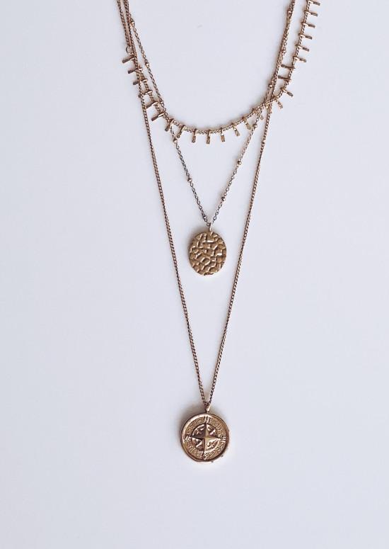 Golden Hulya necklace