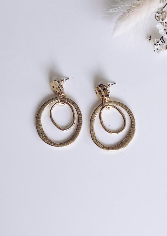 Golden Kelso earrings
