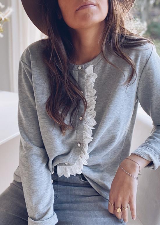 Light grey Manessa sweater