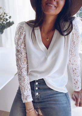 White Odina blouse