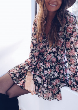 Floral Pixy dress