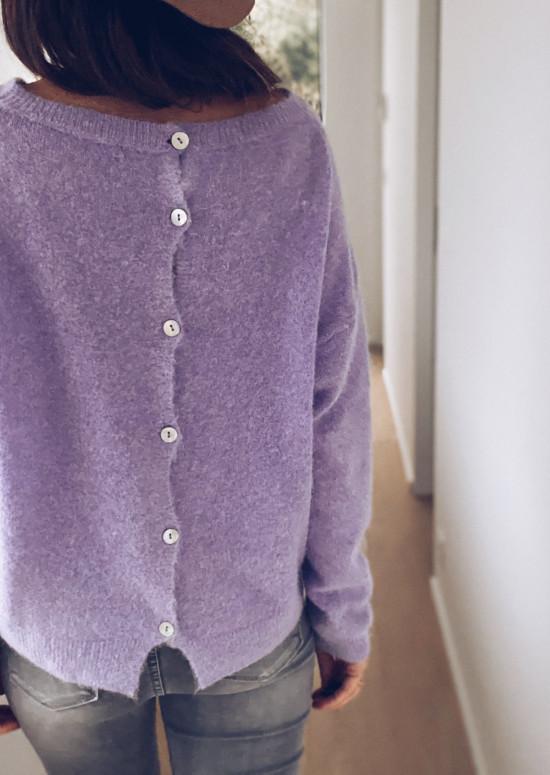 Lavender Margaux sweater