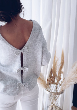 Light grey Noanne sweater