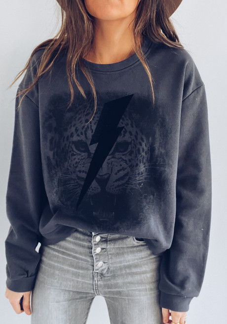 Grey Tiger Sweater
