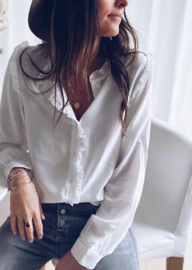 White Yahel shirt