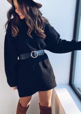 Robe pull Lexa noir