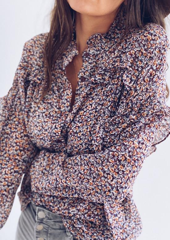 Flowery Amalia shirt