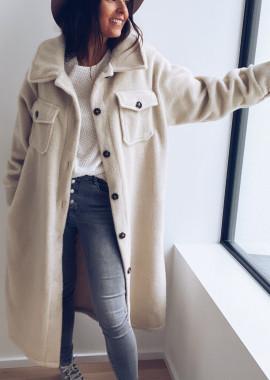 Beige Clarissa coat