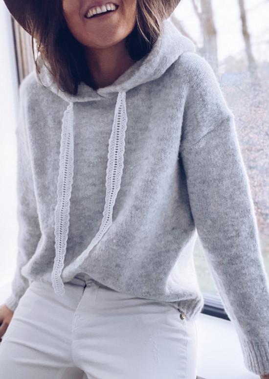 Light grey Ilona sweater