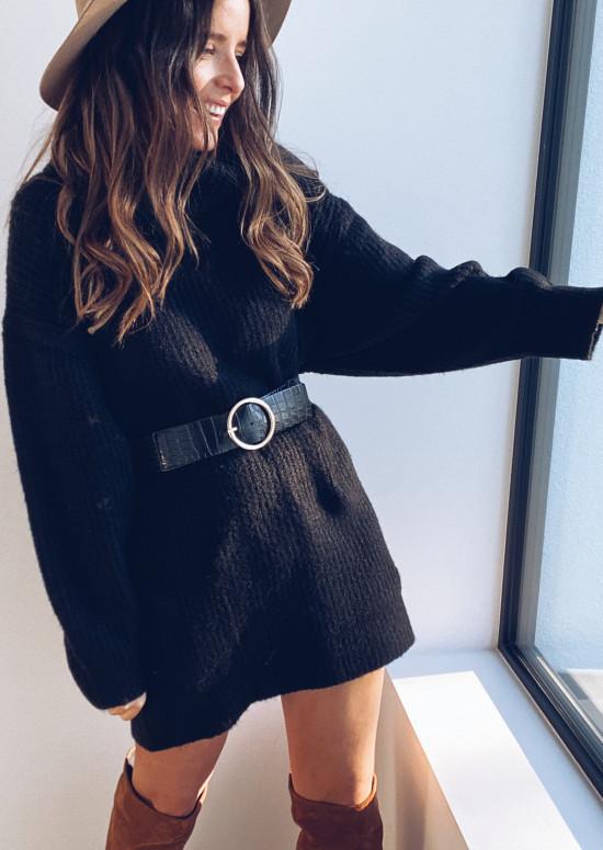 Black Eunice belt