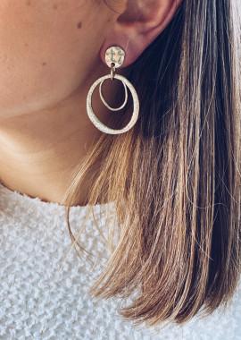 Boucles d'oreilles Kelso doré