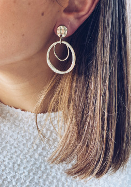 Golden Kelso earrings