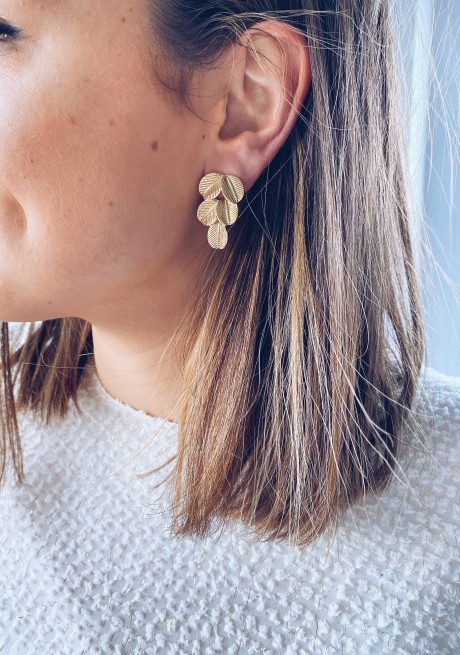 Golden Isy earrings