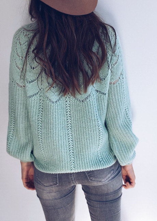 Green June sweater