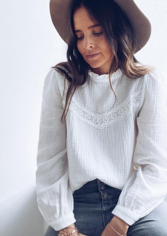 Ecru Kendal blouse
