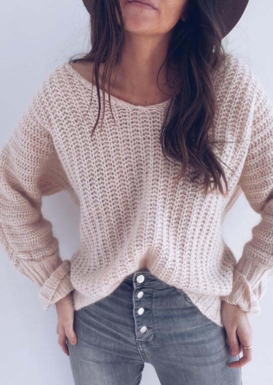 Light pink Malo sweater