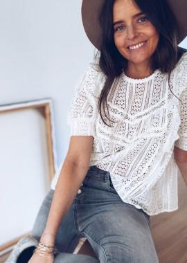 Ecru Kelly blouse