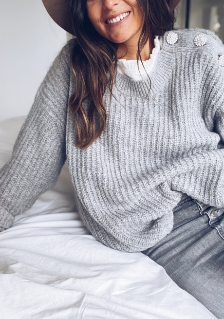Grey Yves sweater
