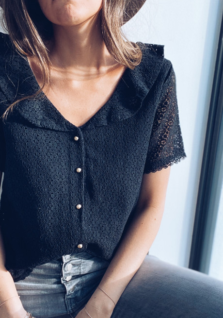 Black Lady blouse