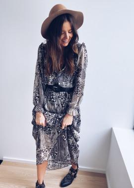 Robe Raphaelle noire