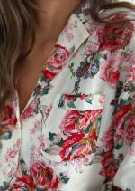 Ornelle floral blouse