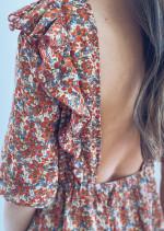 Zénia dress with flowers